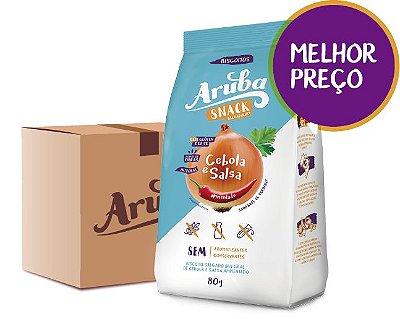 Aruba Snack Salgadinho - Cebola e Salsa - Cx. 24 pacotes
