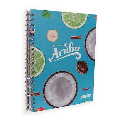 Caderno Aruba - 100 Folhas