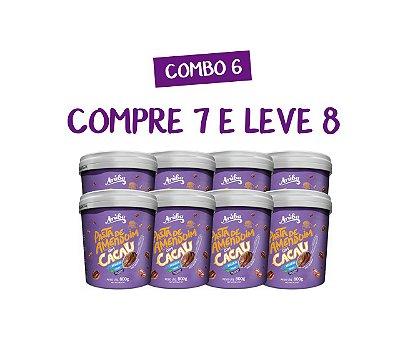 Combo 06 -  Compre 7 Pastas Cacau e Leve 8