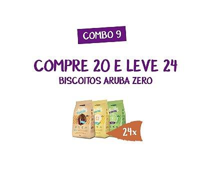 Combo 09 - Compre 20 Biscoitos Aruba Zero e Leve 24