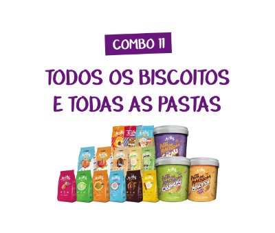 Combo 11 - Aruba Mix Total (Pasta + Biscoitos)