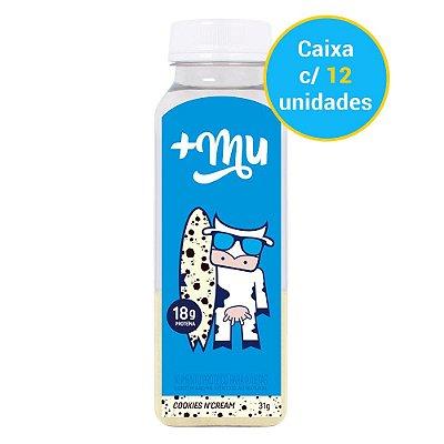 Caixa Garrafinha de Cookies n' Cream Tradicional - 12 unidades