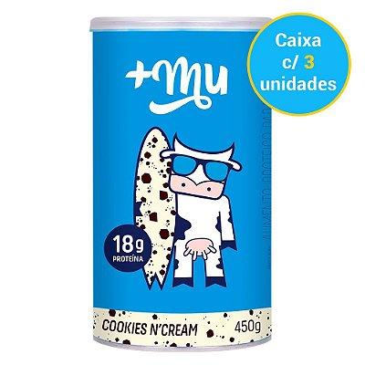 Caixa Pote de Cookies n' Cream Tradicional - 3 unidades