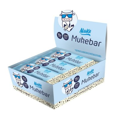[Lançamento] Mukebar Muke - Cookies'n Cream (Unidade) 60g| Muke Snacks