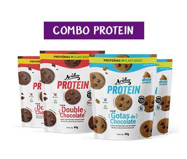 Combo Protein  (4 pacotes de sabores a sua escolha)