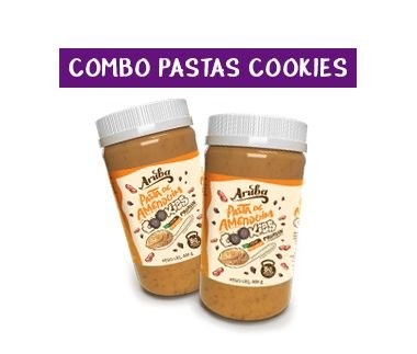 Combo Pasta Protein Cookies (2 potes)