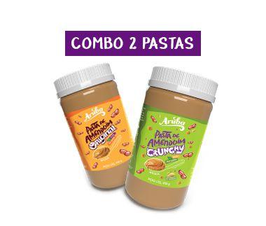 Combo Pastas Clássicas (2 potes)