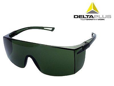 Óculos De Proteção Sky Verde Delta Plus
