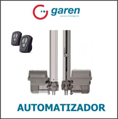Autom. Basculante Garen Compl. 1.40 mts Quad speed 1/3 Hp