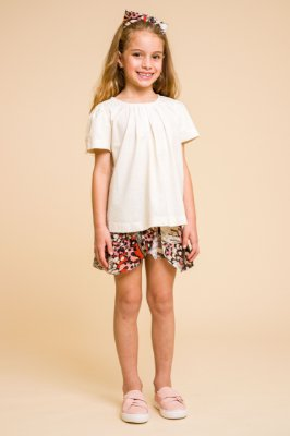 Short saia Butterfly