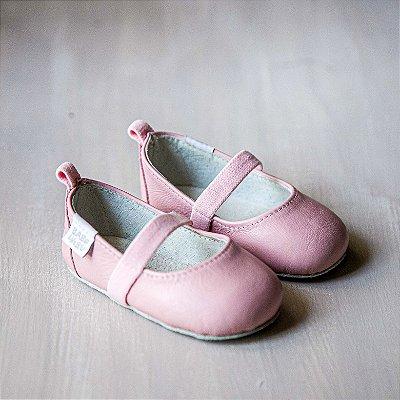 Sapato em couro Rosa BB