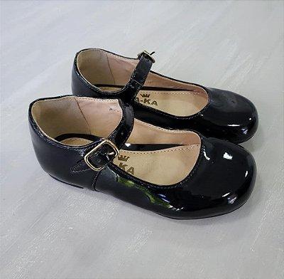 Sapato Verniz Preto