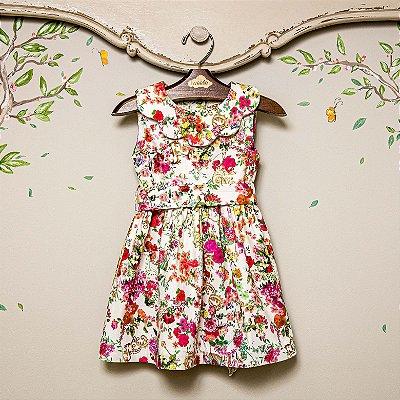 Vestido Infantil Floral Sweetie