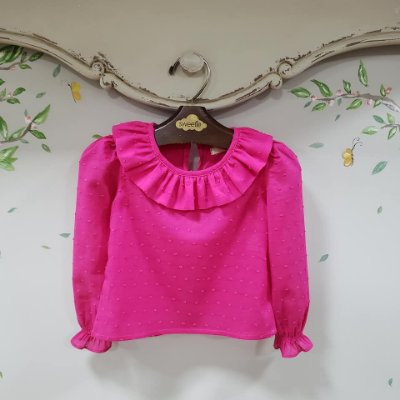 Blusa Pipoca Pink M/L