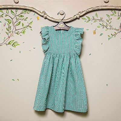 Vestido Infantil Xadrez Vichy
