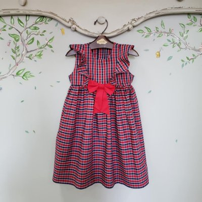 Vestido Xadrez Infantil Verona