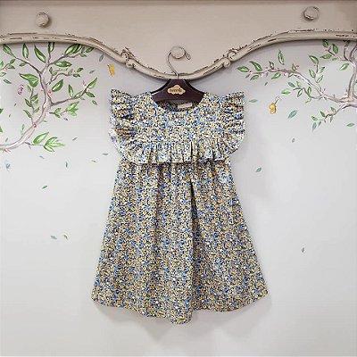 Vestido Infantil Floral Liberty Milão