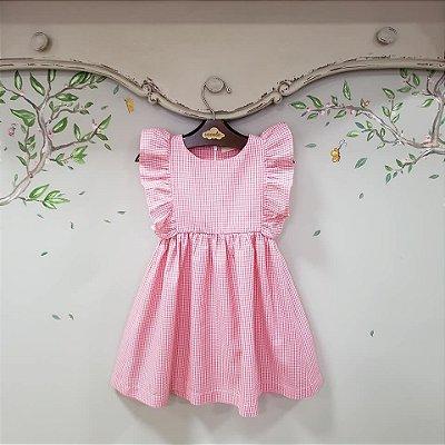 Vestido Infantil Rosa Capri