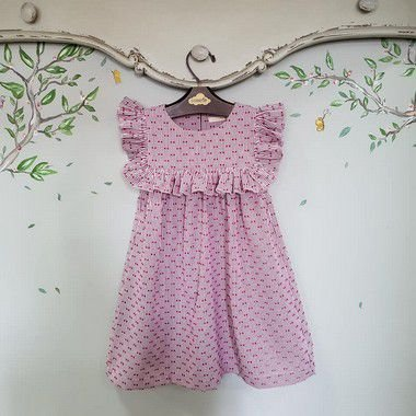 Vestido Infantil Milão Listras