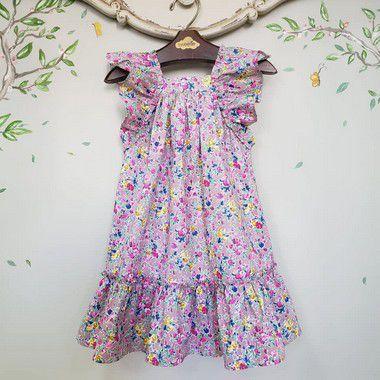 Vestido Infantil Bolonha