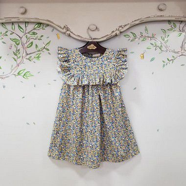Vestido Infantil LIberty Milão