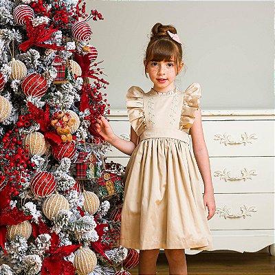 Vestido Infantil Rococó 400 fios