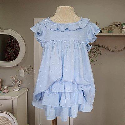 Conjunto bebê e infantil Azul Rimini