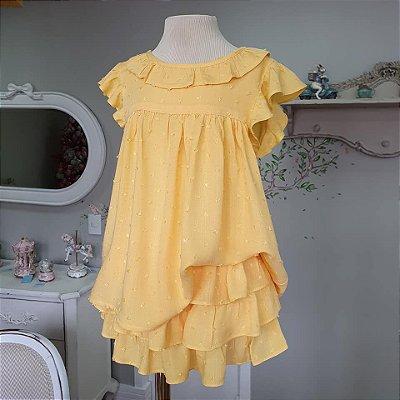 Conjunto bebê e infantil Amarelo Rimini