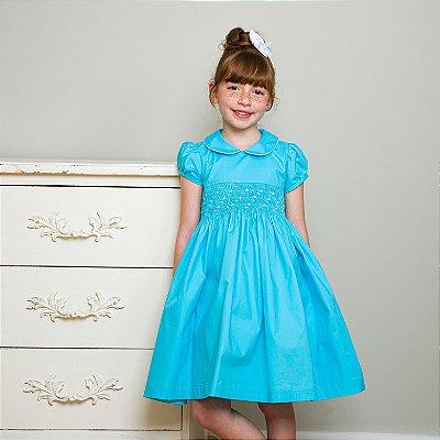 Vestido bordado Infantil Frozen