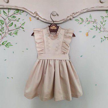 Vestido bebê Rococó 400 fios