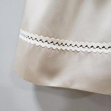 Vestido bebê bordado 400 fios egipicio