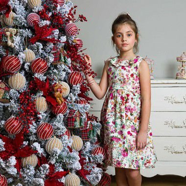 Vestido Infantil Floral Siena Sweetie