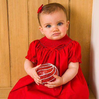 Conjunto batinha bordado bebe Vermelho
