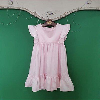 Vestido bebê e Infantil Rosa Turin