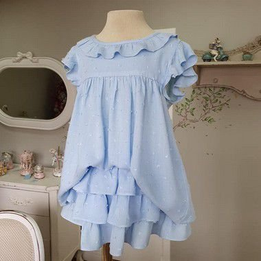 Conjunto bebê Azul Rimini