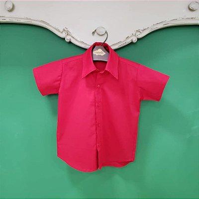 Camisa Menino Vermelho Natal