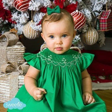 Conjunto batinha bordado bebe Verde Abinha