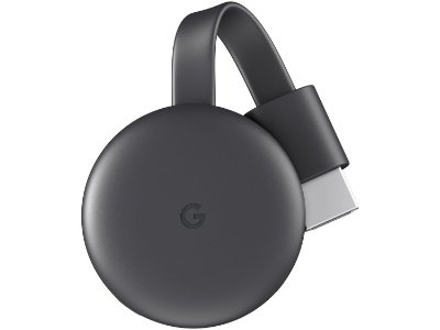 Google Chromecast 3 Full HD com Wi-Fi/HDMI - Preto