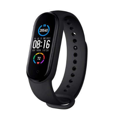 Pulseira Inteligente Xiaomi Smart Mi Band 5 Preto