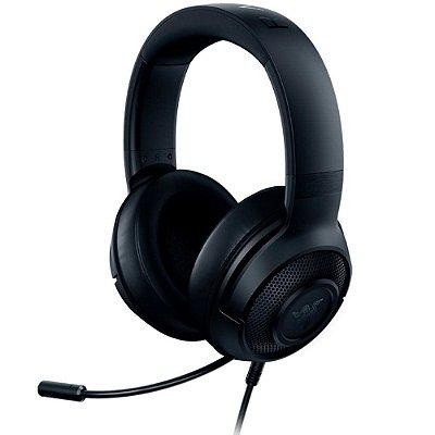 Headset Razer Kraken X Lite - Preto