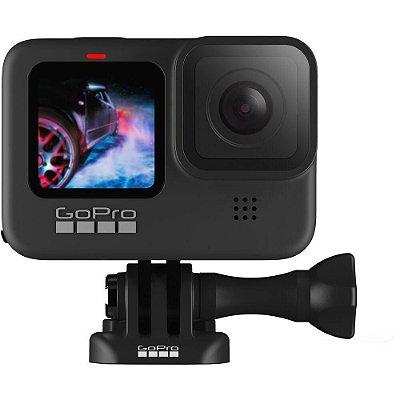 Filmadora Esportiva GoPro Hero 9 Black 5k, GPS, 1720 mAh