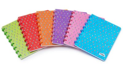 Caderno Atoma Heart Pautado - Grátis Refil