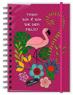 Planner Permanente Fina Ideia Flamingo