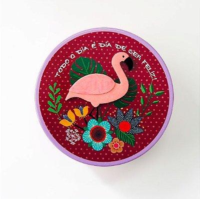 Bloco Na Lata Fina Ideia Flamingo
