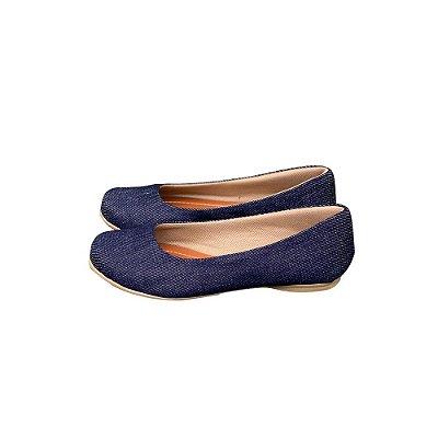 Sapatilha Likka Calçados  Jeans- Varejo 076