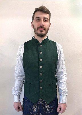 Colete Típico Masculino Verde