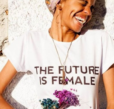 Camiseta 'The Future is Female'