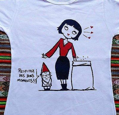 Camiseta 'O fabuloso destino de Amélie Poulain'