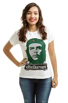 Camiseta Che Guevara Heineken Branca (Baby Look)