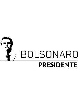 Camiseta Bolsonaro Presidente LEGENDA BRANCA (Baby Look)
